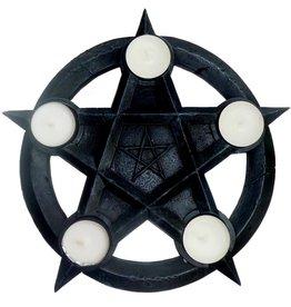 Pentagramme Teelichter-Pentakel, Altarpentakel