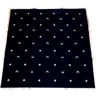Textilien Tarot Decke - Mondnacht