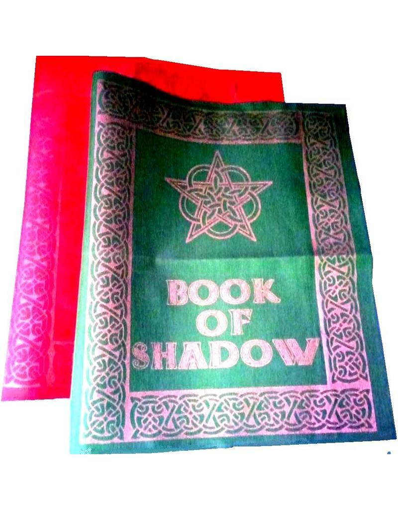 Buch der Schatten - Ordnereinband mit Rosen- Pentagramm