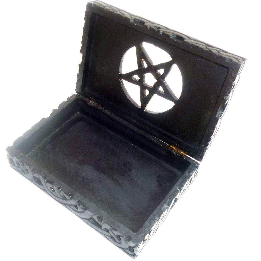specksteindose pentagramm alraune esoterik shop f r magie hexen und ritualzubeh r. Black Bedroom Furniture Sets. Home Design Ideas