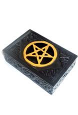 Speckstein Dose mit Pentagramm Klein oder Groß
