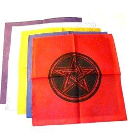 Pentagramme Altartuch mit Pentagramm ab