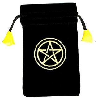"Pentagramme Tarot Beutel ""Pentakel"", klein"