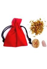 Ritualbedarf Mojo-Bag (Mojo-Beutel), Liebe
