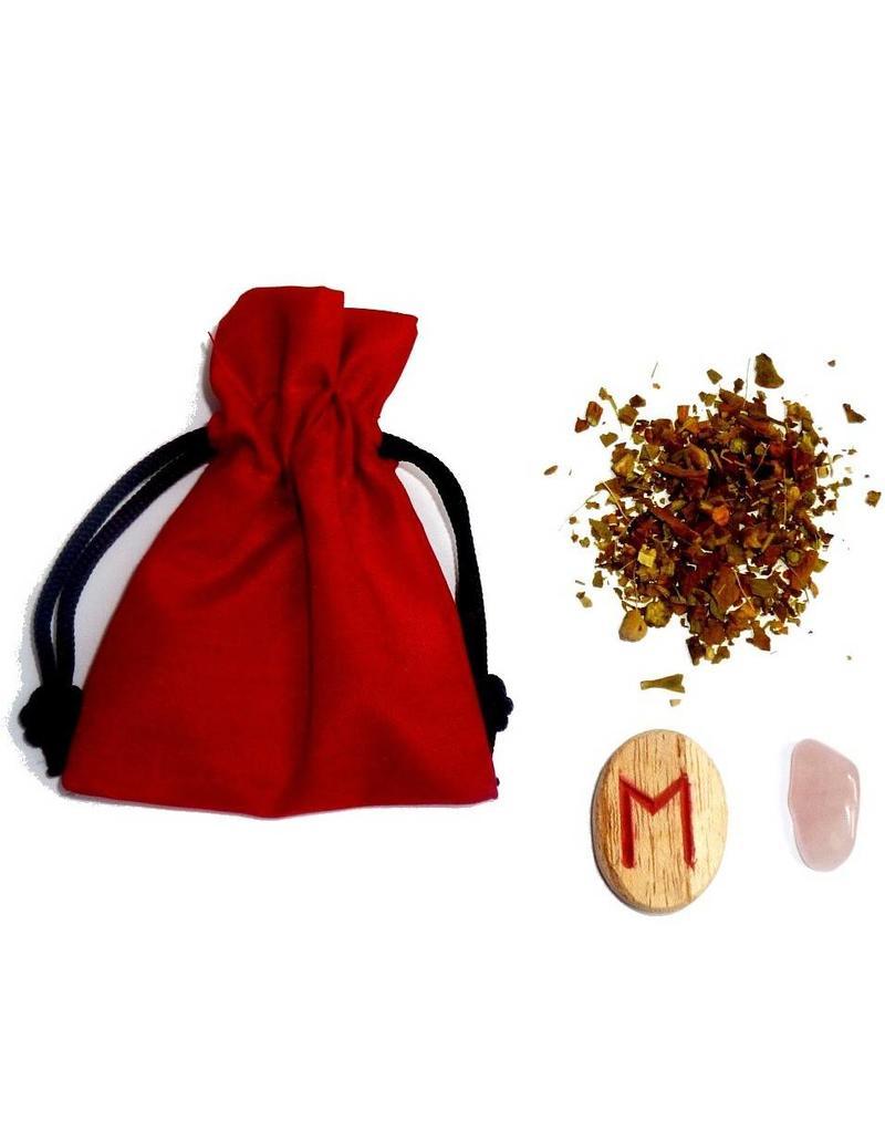 Mojo-Beutel mit Anleitung