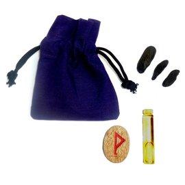 Ritualbedarf Mojo Beutel mit Anleitung, Wunscherfüllung