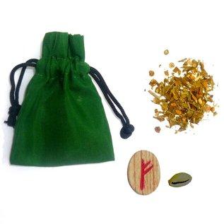 Ritualbedarf Mojo-Bag (Mojo-Beutel), Geld