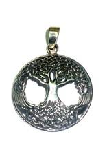 "Baum des Lebens: Anhänger ""Yggdrassil"" Sterling Silber"