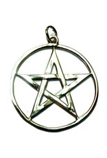 Pentagramme Pentagramm Amulett Anhänger aus 925 Sterling Silber