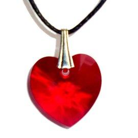 Kristall Herz Anhänger