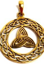 Keltisch Triquetra Anhänger Dreifacher Knoten