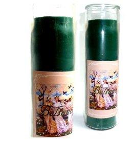 Sabbatte Beltane Glaskerze