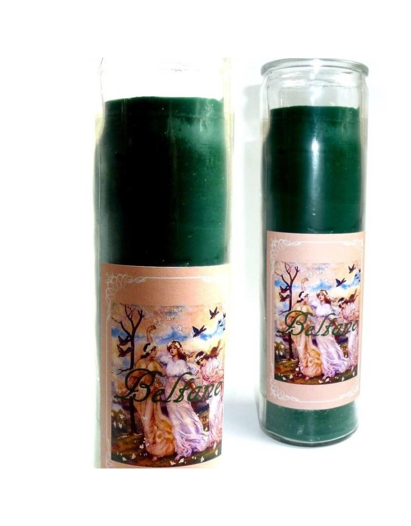 Sabbatte Beltane Jahreskreis Kerze im Glas