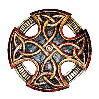 Keltisches Kreuz, geschnitzt, klein
