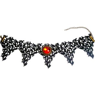 Bat Wings Spitzen Halsband