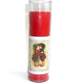 Sabbatte Julfest Kerze