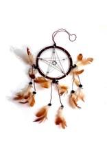 Pentagramme Traumfänger (Dreamcatcher) mit Pentagramm