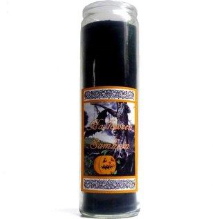 Sabbatte Halloween Samhain Jahreskreis Kerze im Glas