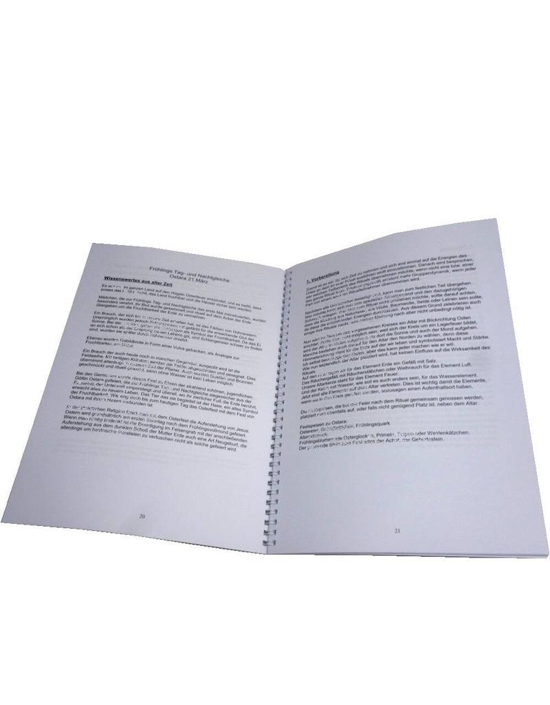 Arbeitsbuch mit Schritt für Schritt Anleitung für die acht Hexensabbate