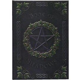 Notizbuch mit Pentagramm und Efeu