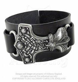 Alchemy Lederarmband Thors Hammer