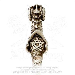 Alchemy Dragon Wand, Stab mit Drachenkopf und Pentagramm
