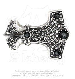 Alchemy Gürtelschnalle Thors Hammer