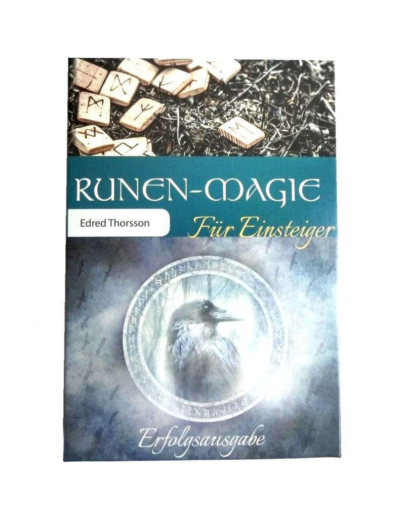 """Runen Set: Buch """"Runenmagie für Einsteiger"""" und 24 Buchenholz-Runen"""