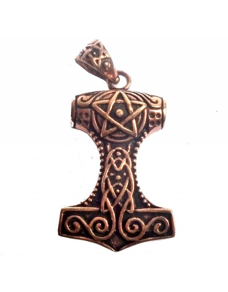 Keltisch Thors Hammer aus Bronze