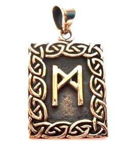 Runen Mannaz Rune Anhänger