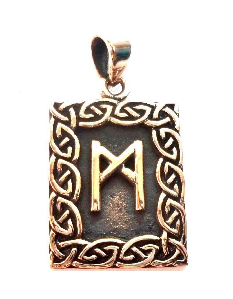 Runen Amulett Rune, Mannaz Anhänger