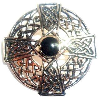 Keltische Brosche aus Bronze