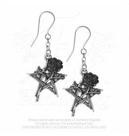 Alchemy N E U : Pentagramm Ohrringe Ruah Vered