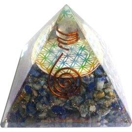 Orgonit Pyramide Blume des Lebens