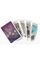 Weissagen Tarot mit Deutungstexten auf jeder Karte für einen leichteren Start
