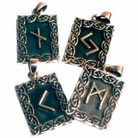 Runen Ansuz Runen Anhänger