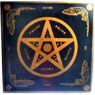 Witchboard klein mit Pentagramm