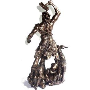 Thor aus Polyresin, bronziert