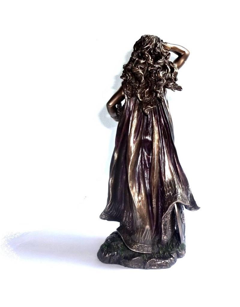 Freya aus Polyresin, bronziert