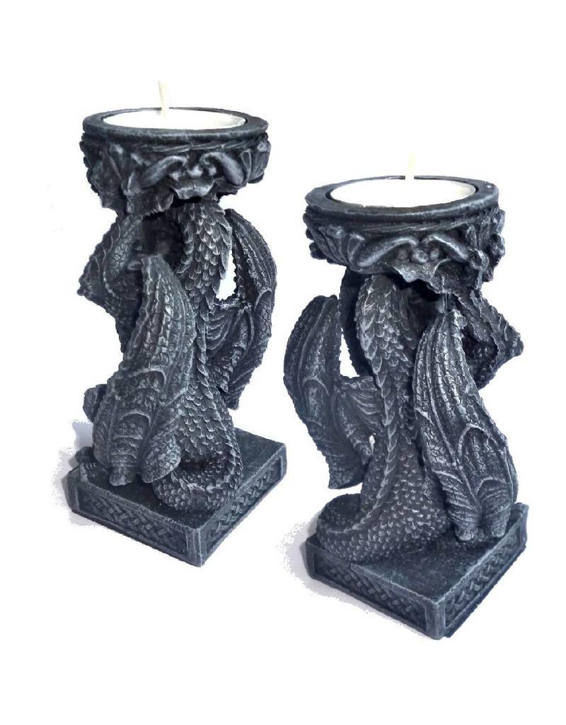 Drachen Teelichthalter