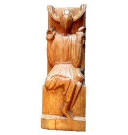Altarfigur Gehörnter Gott