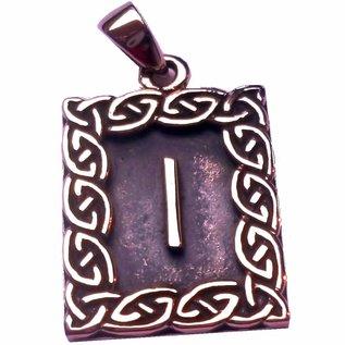 Runen Amulett Rune, Isa