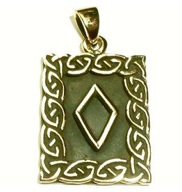 Inguz Rune Anhänger