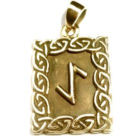 Runen Eihwaz Rune Anhänger