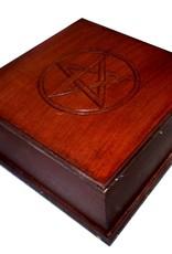 Holzkasten für den Altar