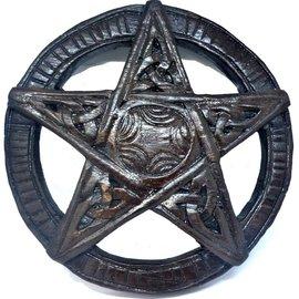 Pentagramm aus Holz, klein