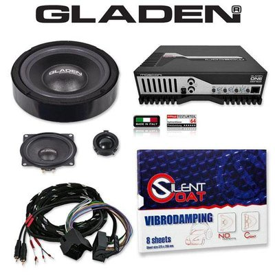 Gladen Audio GLADEN GOLF V Pack 1