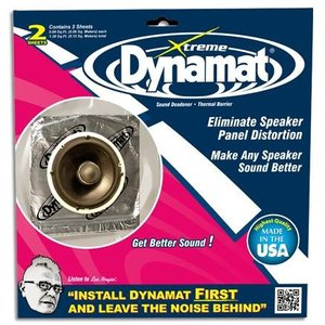 Dynamat Speakerkit Xtreme