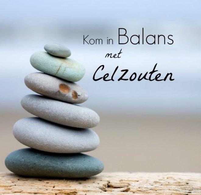 in balans met celzouten