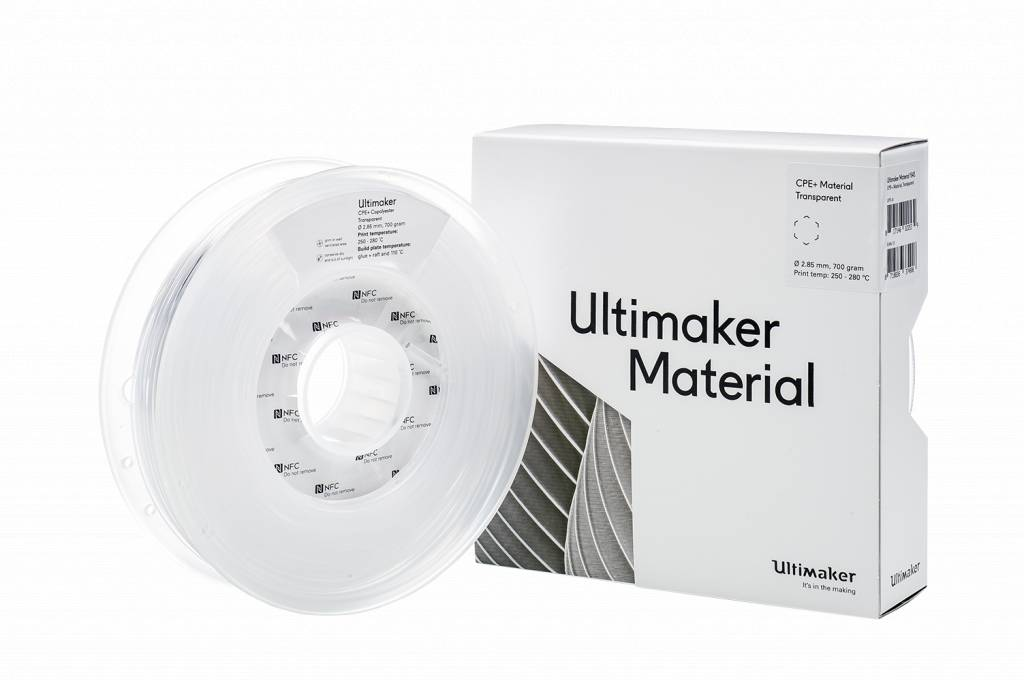 Ultimaker CPE+ Transparant